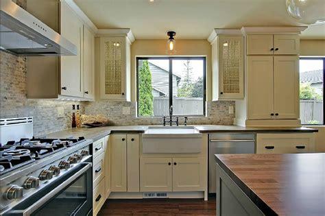 kitchen design with windows small kitchen design ideas big functionality 4613