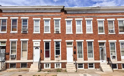 A Reference Guide To The Baltimore Rowhouse  Welcome To