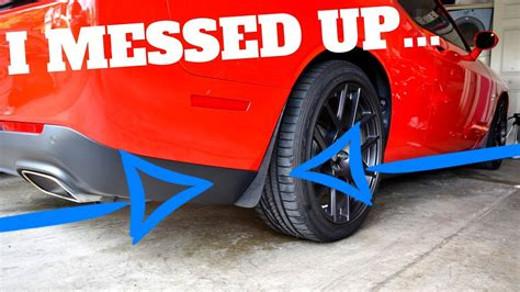 dodge challenger zl addons rock guards install youtube