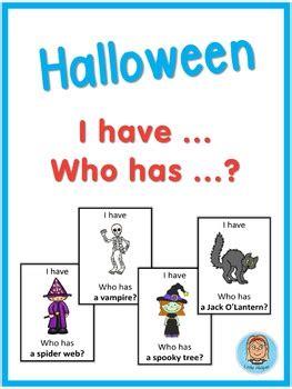 esl halloween     game