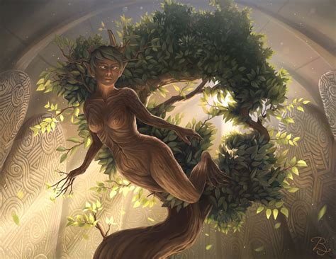 Lund  Goddess Of Nature By Blunell On Deviantart