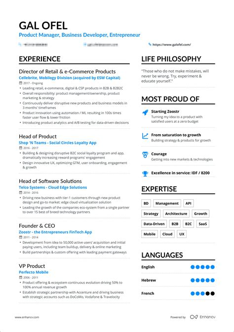 how should a resume be we have the answer