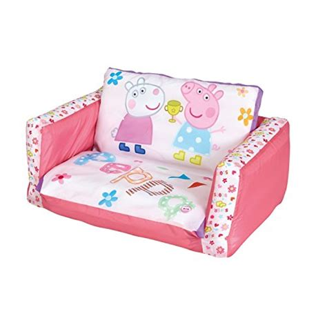 peppa pig inflatable chair  kids  removable cover flip  sofa folds