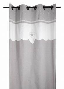 Rideaux Style Romantique : rideau esprit campagne chic lin homemaison vente ~ Melissatoandfro.com Idées de Décoration