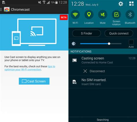 how to mirror your android device to your tv or second screen how to mirror your android screen with chromecast