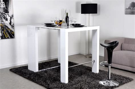 console bar cuisine table console haute extensible