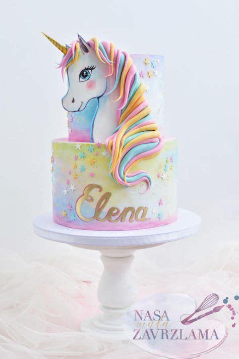 unicorn cake  nasa mala zavrzlama pastel de cumpleanos