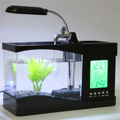 bureau aquarium multi functional usb desktop aquarium buy from