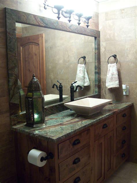 Bathroom Granite Countertops Ideas by Bathroom Design With Forest Green Granite Countertops