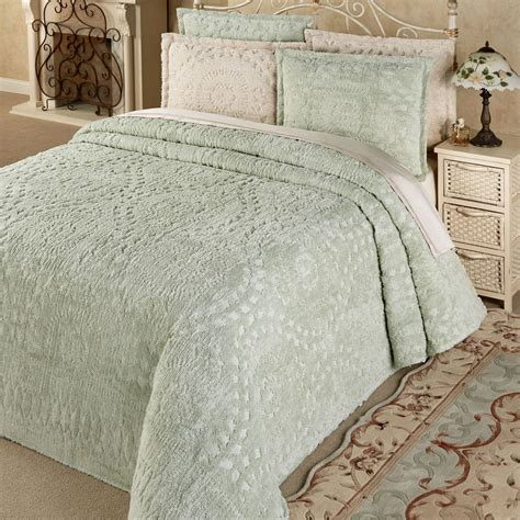 chenille bedspreads rio lightweight cotton chenille bedspread bedding