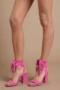 Outfits With Light Pink Shorts High Heels High Heels Strappy Heels Platform