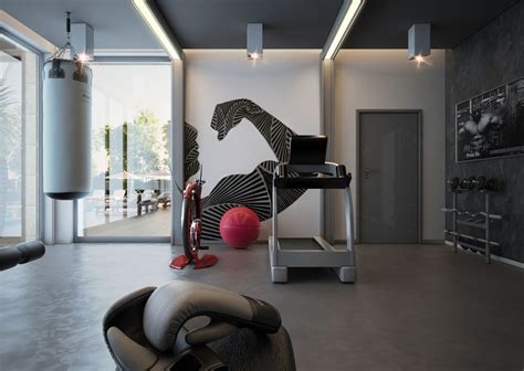 stunning private gym designs   home sport club