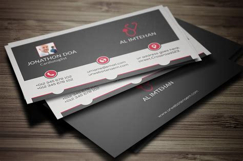 doctor business card business card templates creative