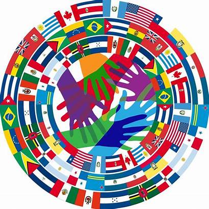 Education System Countries Different Language Vector Illustration