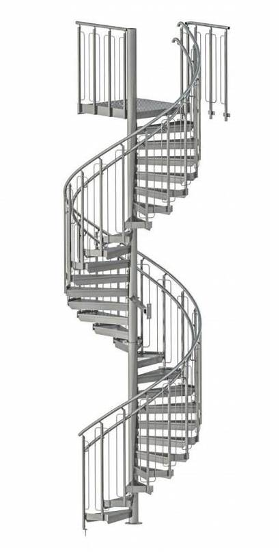 Spiral Stairs Staircase Steel Industrial