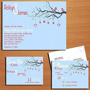 love birds wedding collection invitation rsvp save With wedding invitation rsvp due date