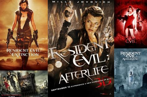 Resident Evil Order Movies Series Resident Evil Series