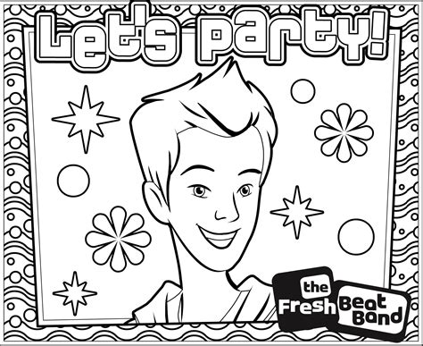 Fresh Beat Band Of Spies Kleurplaat by Fresh Beat Band Coloring Pages Coloring Home