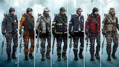 Division Clancy Tom Outfit Frontline Pack Season