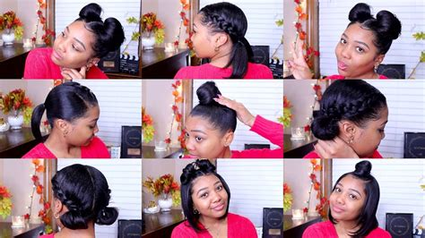 10 Quick & Easy Hairstyles