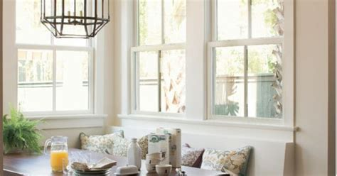 wall panda white  trim dover white paint colors pinterest panda walls  dining nook