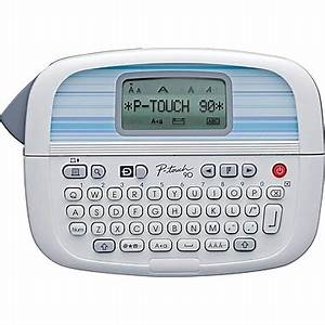 brother p touch pt 90 personal label maker staplesr With cosmetic label maker