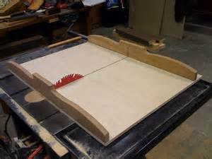 Fly Tying Table Woodworking Plans by New Table Saw Crosscut Sled By Sleff Lumberjocks Com