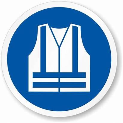 Vest Safety Visibility Wear Mandatory Iso Label