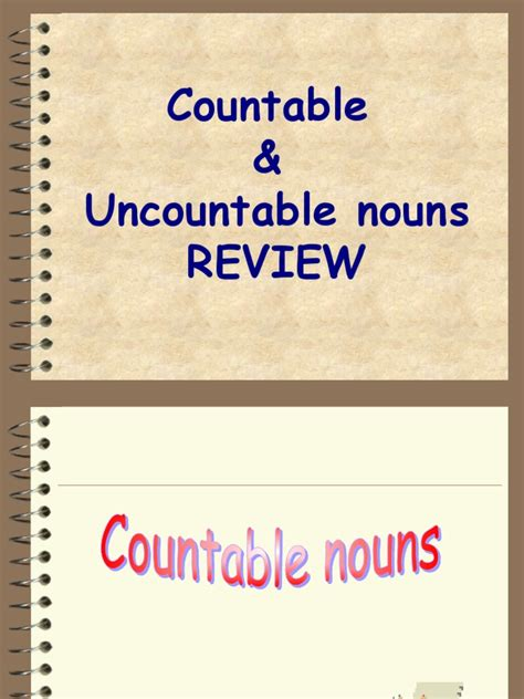countable  uncountable nouns noun grammatical number