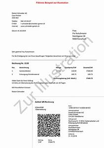 Partydeko Auf Rechnung : qr rechnung l st 2019 den einzahlungsschein ab run my accounts ag ~ Themetempest.com Abrechnung