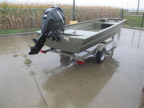 Tracker Jon Boat A Vendre by 2014 Tracker Boats Grizzly 1648 Jon Boat 192 Vendre