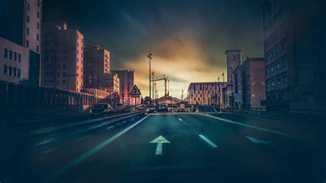 dark street  ultrahd wallpaper wallpaper studio