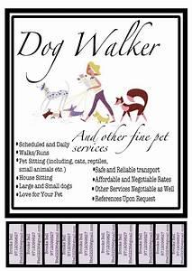 dog walking poster template new dog walking poster pet cafe