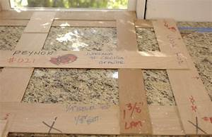creating countertop templates fine homebuilding With template for granite countertops