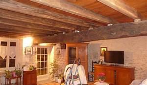 quelle couleur pour un plafond avec poutres pour eclaircir With delightful peindre des poutres au plafond 6 poutres apparentes repeindre des poutres poutres au