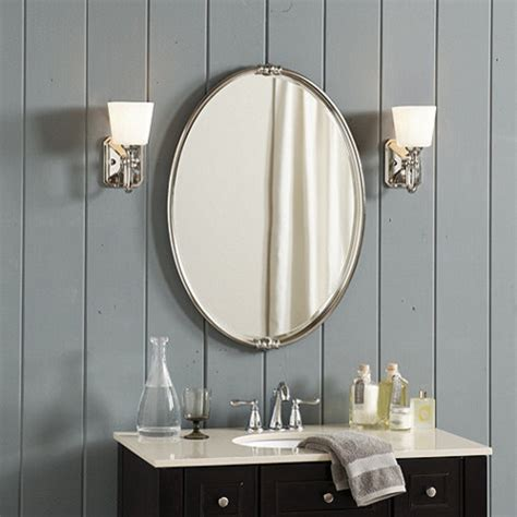 Modern Oval Bathroom Mirrors by Bathroom Mirrors Design And Ideas Inspirationseek