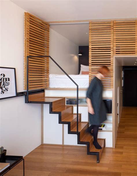 hotel amsterdam dans la chambre appartement studio design le zoku fonctionnel et esthétique