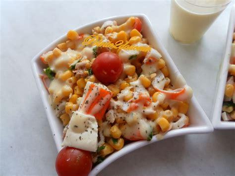 Salade De Pates Thon Mais by Salade Mais Surimi Thon Pointe2douceur