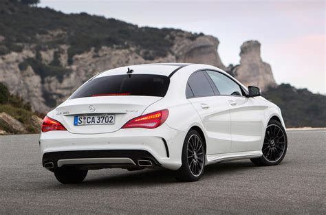 Its only longer gear is the 7th one which enables reaching respectable top speeds with. Mercedes-Benz CLA 220 CDI first drive review review   Autocar