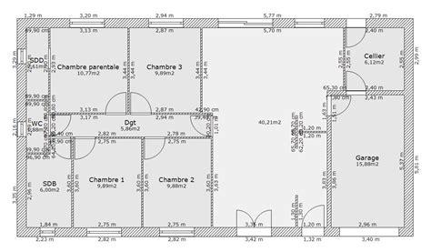 plan de maison 120m2 4 chambres trendy with plan de maison chambres plain pied gratuit