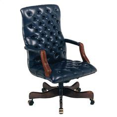 brown leather executive office chair leather office