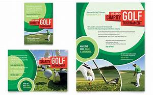 golf tournament flyer ad template design With golf tournament program template
