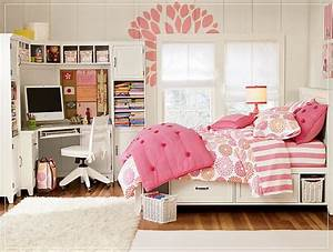 Small Bedroom Design for Teenage Girls in Modern Design