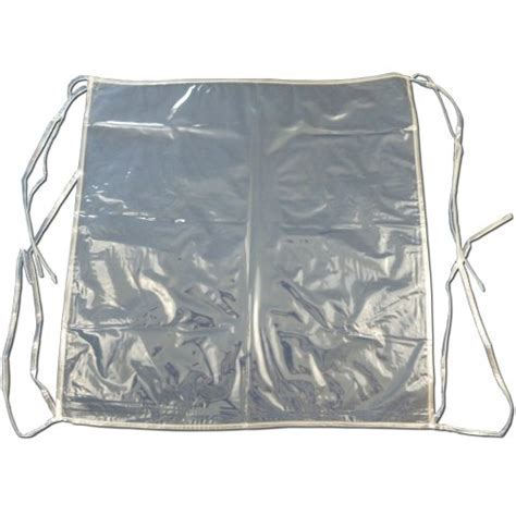 6 x Clear Plastic Dining Chair Seat Cushion Covers