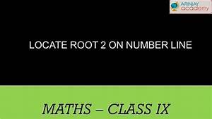1423. CBSE Math Class IX, ICSE Class 9 - Locating ...