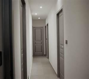 Porte De Couloir : peindre un couloir refaire la cage d 39 escalier pinterest couloir peindre et portes ~ Nature-et-papiers.com Idées de Décoration
