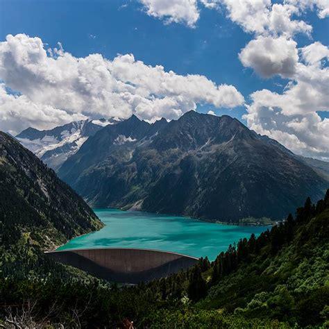 scenic beauty  schlegeis lake austria xcitefunnet
