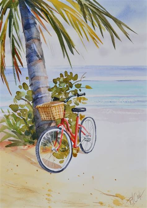 bicycle art christmas tree bicycle fort lauderdale paintings bicycle painting watercolor watercolor