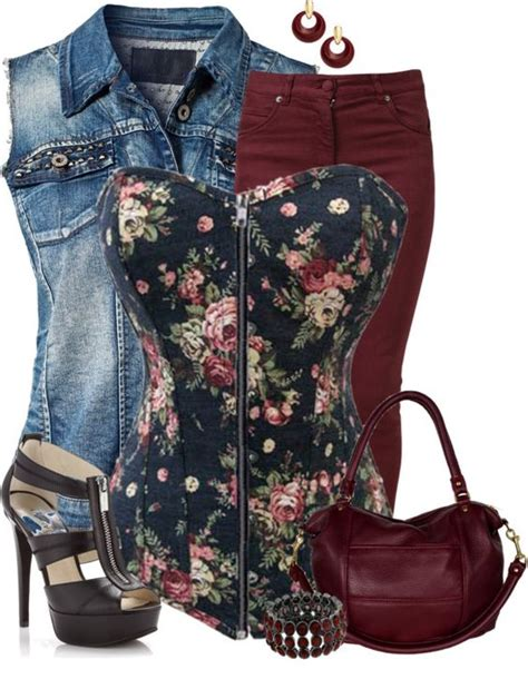 U0026quot;Cinch It - Floralu0026quot; by angiejane on Polyvore | Fashion it ...