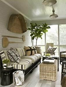 Salon En Rotin Pour Veranda : le salon de jardin en r sine tress e en 52 photos ~ Melissatoandfro.com Idées de Décoration
